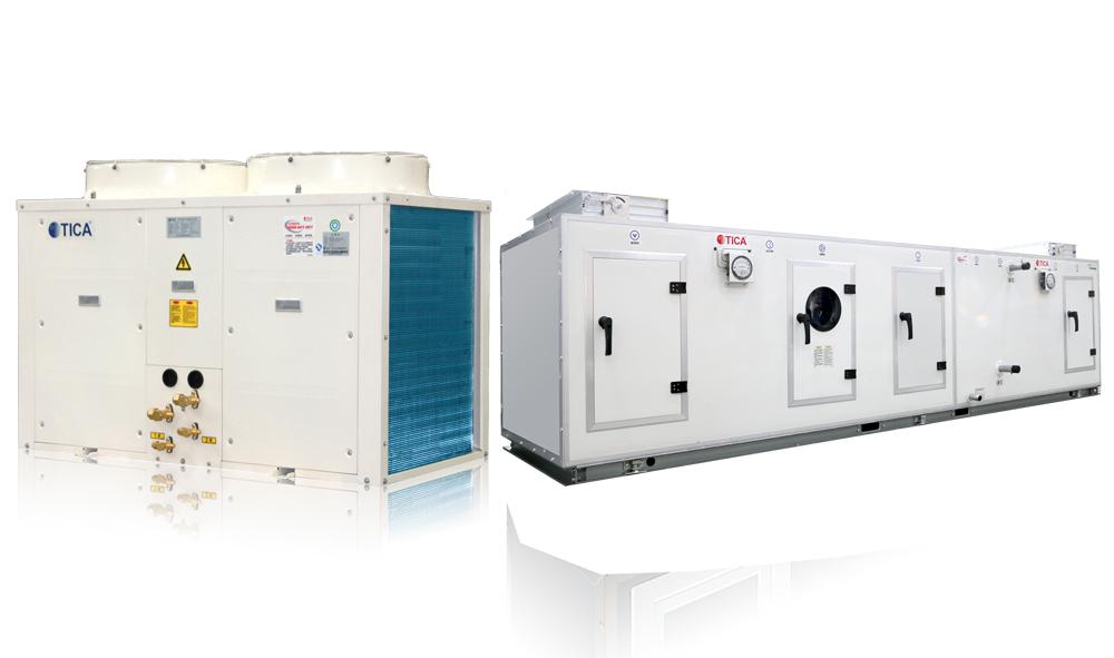 天加恒温恒湿净化车间洁净室专业空调系统